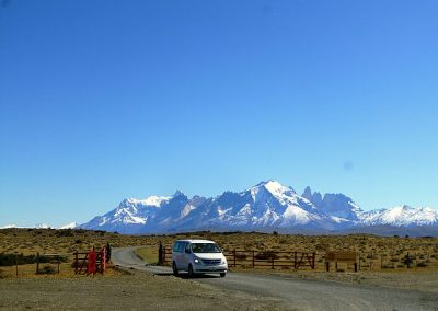 H1 transport in patagonia