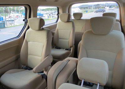 Interior minibus H1 10 pax w