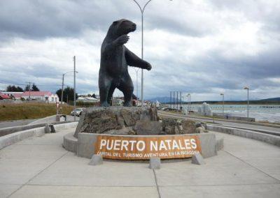 Puerto natales patagonia milodon